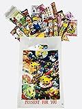RAPID-Pokemon Japanese snacks Gift Box 30 pcs-''Dagashi'' snack with Japanese anime bag (Pokemon)
