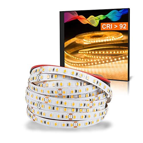 LED 2835 Bande blanc chaud (2700K) CRI 92 72W 5m 24V IP20