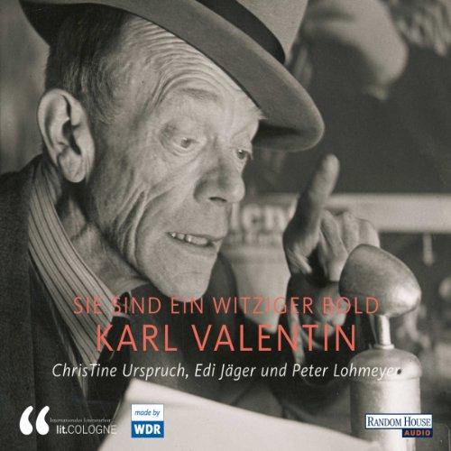 Karl Valentin. Sie sind ein witziger Bold Titelbild