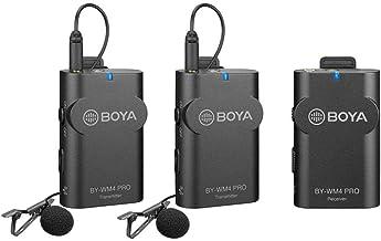 Boya WM4 Pro K2 Dual Channel Digital Wireless Microphone System with Lapel Microphones