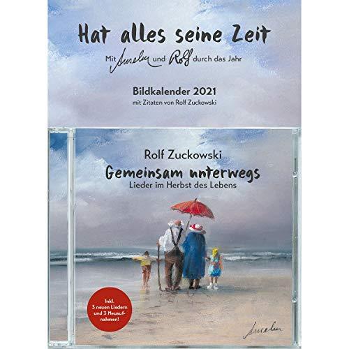 Gemeinsam Unterwegs - Ltd. Geschenk Kalender Edt.: Lieder im Herbst des Lebens (Musik für Dich /Rolf Zuckowski)
