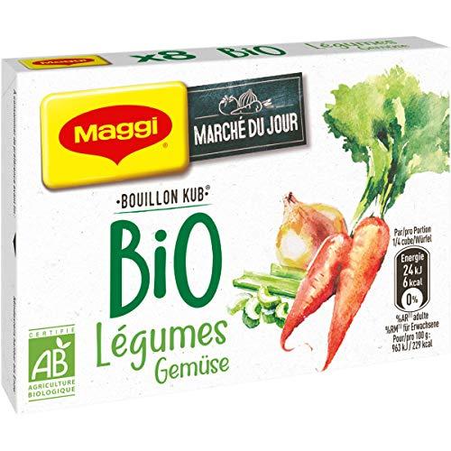 Maggi Bouillon KUB Bio Légumes (8 Tablettes) 80g