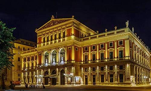 MKmd-s 1000 Teile Puzzle Vienna Golden Hall Mini-Puzzles