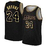 Los Angeles Black Mamba Basketball Jersey Player Number 24 Jersey Sportswear Shirt L - Men
