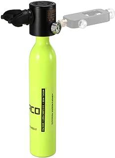 Lixada 0.5L Scuba Oxygen Cylinder Diving Air Tank Scuba Regulator Diving Respirator with Gauge Snorkeling Breathing Equipment