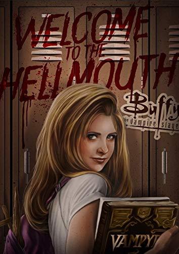 Xevkkf Diamond Painting 5D Pintura Diamante_Póster Buffy La Cazavampiros 40X50Cm_Taladro Completo Cristal Rhinestone Diamante Bordado Pinturas Cuadros Artes