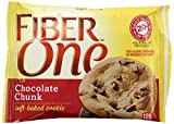 Fiber One Soft Baked Cookies, Chocolate Chunk, 24 Count
