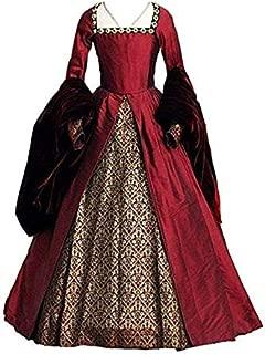 STH Elizabeth Tudor Period Queen Gothic Faire Tudor Dress Anne Boleyn Women Gown