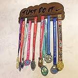 ZHXY Medallero Colgador de medallas Deportivas para Corredores,para Maratón Colgador de Madera para medallas Exhibición de la Medalla Ganador de la Medalla del Estante de trofeos Elegante