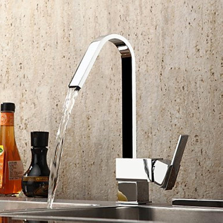 Lozse Contemporary Brass Kitchen tap - Chrome Finish