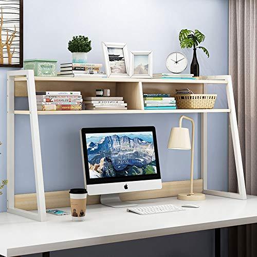 HXiaDyG Boekenkast, industriële stijl, ladder, hoeken, boekenkast, home-office-rek, geschikt voor thuis, op kantoor, plaatsbesparend, twee kleuren, optioneel boekenkast-display