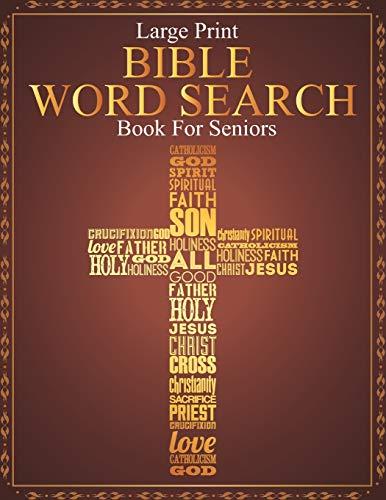 Large Print Bible Word Search Book For Seniors: Large Print Bible Paperback...