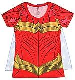Wonder Woman Cape Shirt Wonder Woman Cosplay DC Wonder Woman Tshirt - Wonder Woman Cape Tee Wonder Woman Shirt-Small