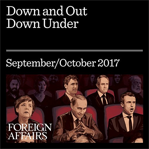 Down and Out Down Under audiobook cover art