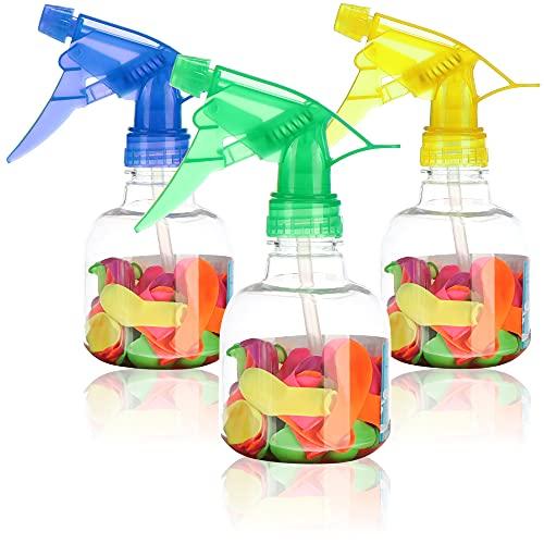 Robin Goods® 3x bomba wodna - pompa do balonu z woda z 50 bombami kazda - napelniacz do bomby wodnej i balony z woda dla dzieci