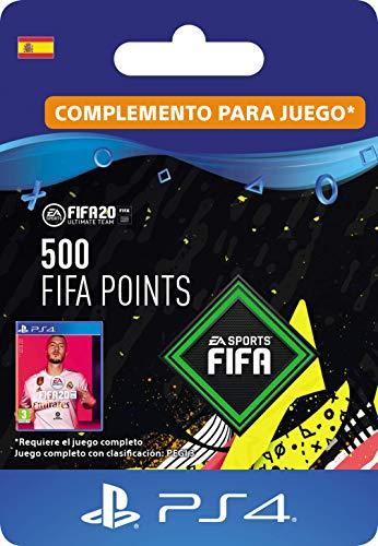 FIFA 20 Ultimate Team - 500 FIFA Points DLC - Código de descarga PS4 - Cuenta española