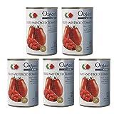 創建社 有機ダイストマト缶 400g(固形量240g) ×5個