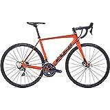 Fuji SL 2.3 Disc Road Bike 2019 - Bicicleta de Carretera (56 cm, 700 c), Color Naranja