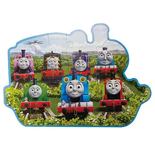 Thomas & Friends - Sodor Friends (24 PC Shaped Floor Puzzle)
