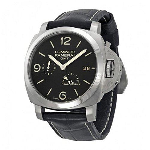 Panerai Men's PAM00321 Luminor 1950 Black Dial Watch