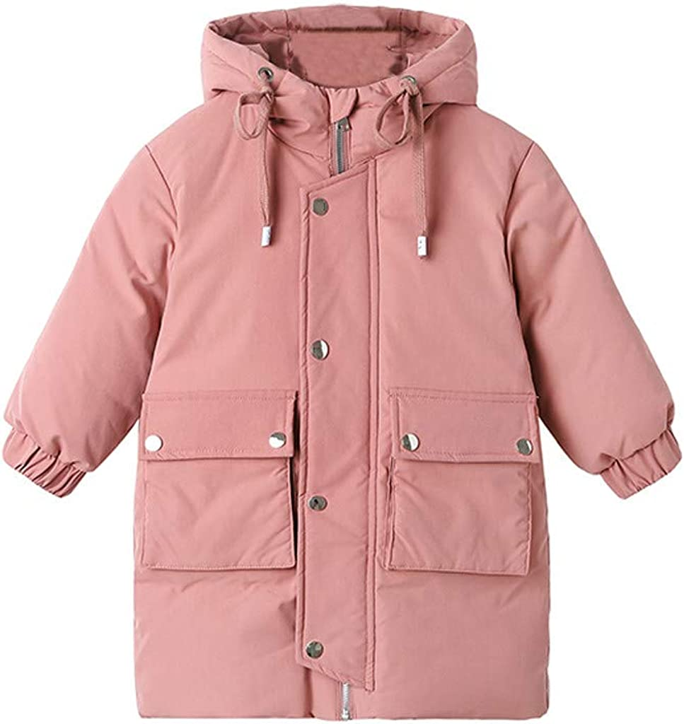 Kehen- Kid Parka Jacket Time sale Boy Puffer Winter Warm A surprise price is realized Girl Solid
