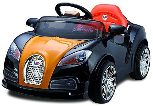 Auto Macchina Elettrica 12V 1 Posto Per Bambini Nero