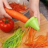 Espiralizador, herramientas de cocina fruta vegetal múltiple trituradora espiral múltiple Peeler manual de patata zanahoria rábano rotativo trituradora rallador Picar Frutas Verduras Zanahorias