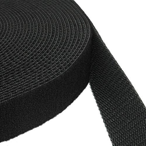 KLETTBAND BEIDSEITIG | Klettband Back to Back auf Rolle | Größe + Farbe wählbar