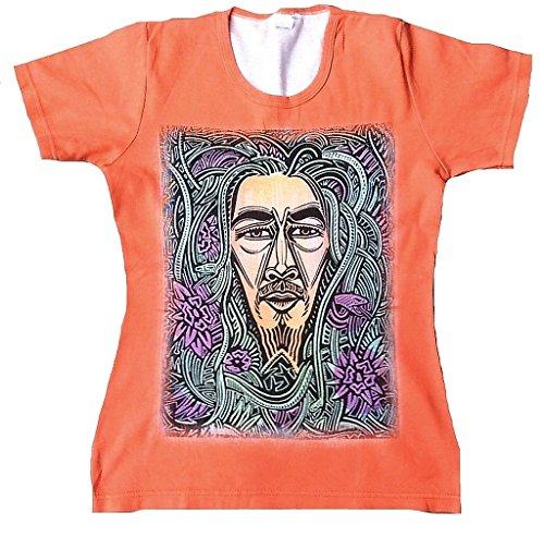 TICILA -  T-Shirt - Donna Rosso 44/46