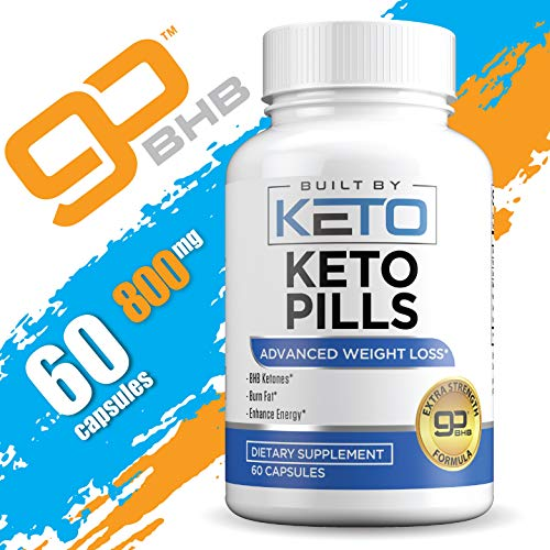 Keto Pills - Weight Loss for Women and Men - Ketogenic Diet BHB Salts - Exogenous Ketones Supplement - Burn Fat for Fuel - Xtreme Lean Ketosis Fat Burner for Fast Weightloss - 60 Capsules 5