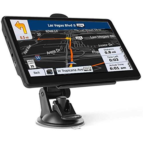 YSSSZ Navigazione GPS per Auto con Navigazione Mapsgps preinstallata da 7 Pollici per Auto, Camion, Camion, Camper, aggiornamenti gratuiti delle...