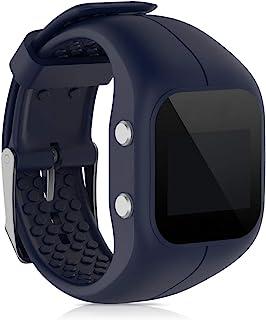 kwmobile Pulsera Compatible con Polar A300 - Brazalete de Silicona en Azul Oscuro sin Fitness Tracker