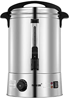 Maxkon 15L Electric Hot Water Urn by Healthy choice | Double Layer | Stainless Steel Body | 2500watt power | Temperature C...