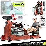 Sportstech Rameur à Eau WRX700 de qualité,...