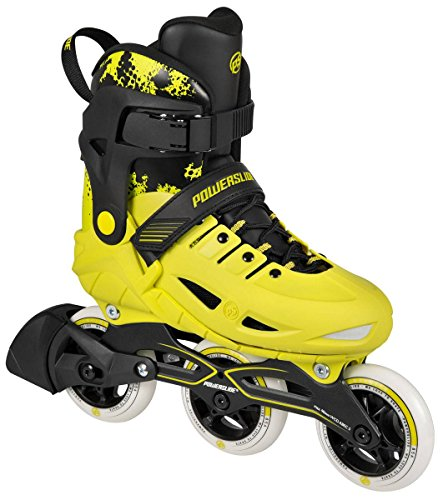 Powerslide Phuzion Universe Unisex Fitness Inline Skates gelb gelb, 33-36