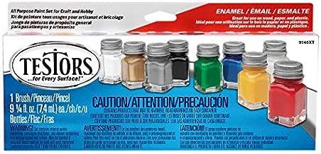 Testors 9146XT Promotional Enamel Paint Set( Packaging may vary)