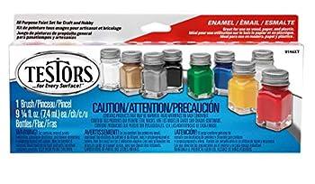 Testors 9146XT Promotional Enamel Paint Set  Packaging may vary