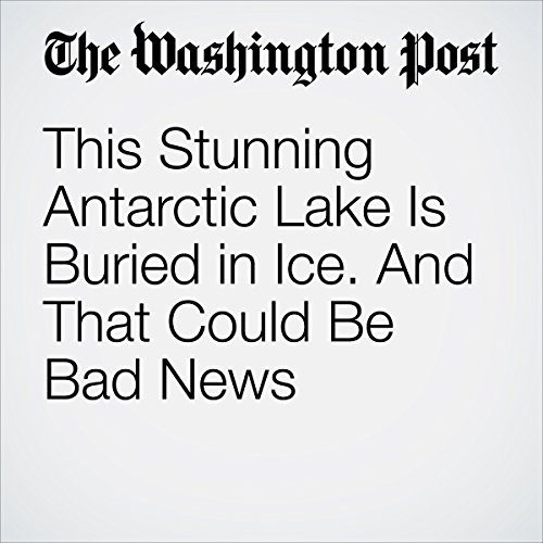 This Stunning Antarctic Lake Is Buried in Ice. And That Could Be Bad News audiobook cover art