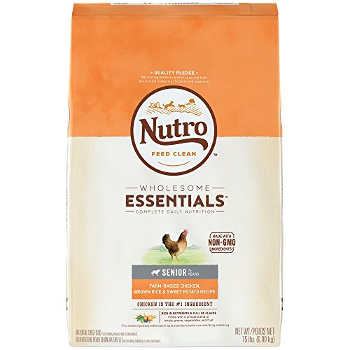NUTRO WHOLESOME ESSENTIALS Natural Senior Dry...