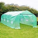 Best Greenhouse Kits - Greenhouse, RePalbel 20x10x7 Oversized Heavy Duty Walking-in Tunnel Review