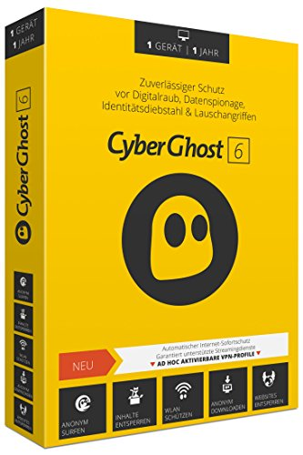 CyberGhost 6 - 1 Gerät