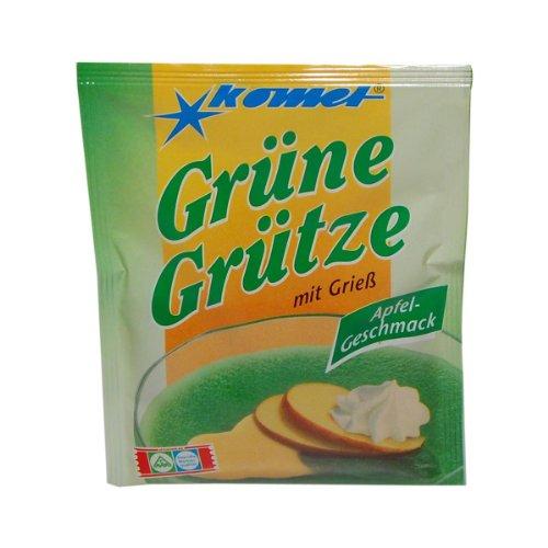 Gerolf Pöhle & Co. GmbH: Komet Grütze mit Grieß - Grüne Grütze, Apfel-Geschma...