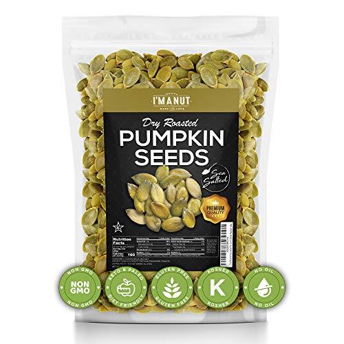Dry Roasted Pumpkin Seeds Sea Salte…