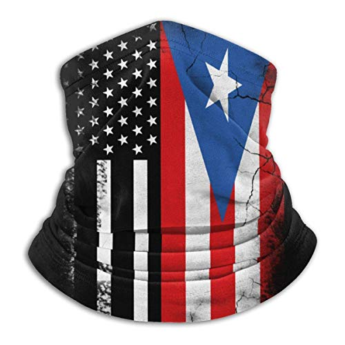 Neck Gaiter USA Puerto Rico Flag Sports d'hiver Neck Warmer Gaiter Winter Balaclava Ski Neck Gaiter Headband Face Hats Cold Weather School