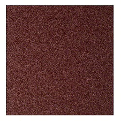 Bosch 2609256B68 - Pliego de lija manual (para madera y pintura, P120, 23 x 28 cm)