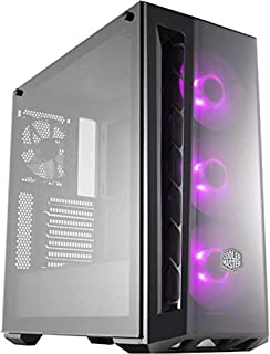 Cooler Master MasterBox MB520 RGB ATX Mid Tower Case Tempered Glass Window 3x RGB LED Fans - Black - MCB-B520-KGNN-RGB