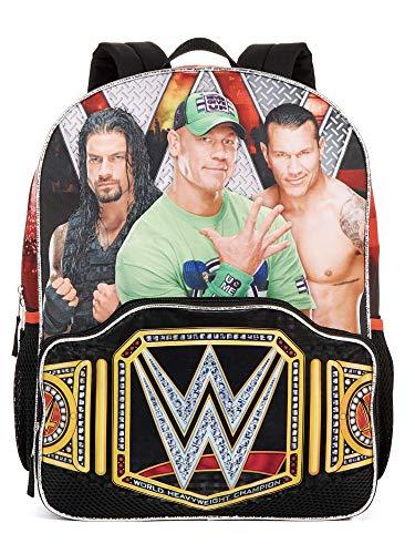 WWE Wrestling Main Event Title Belt Backpack, School Book Bag