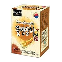 (Nokchawon) 緑茶園 蜂蜜人参茶 12袋 /韓国茶, 液状タイプ, 粉末ティー, 粉末ドリンク [海外直送品]