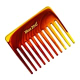 JinJin Wide Tooth Hair Stylists Professional Styling Comb Great Natural Comb Massage Comb for...