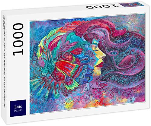 Lais Puzzle Imposible, Muy difícil, Colores psicodélicos 1000 Piezas